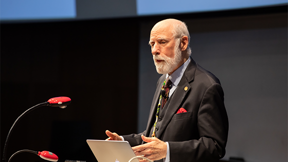 vint cerf lecture at uo